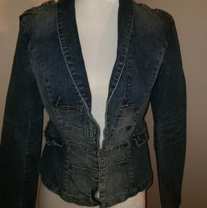 Candies Denim Jacket Sz Medium. Super Cute!